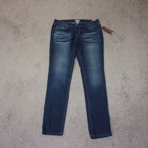Mudd Skinny Jeans Distressed Junior 13